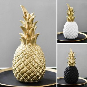 Pineapple Ornaments Living Room Desktop Craft