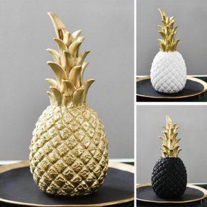 Pineapple Ornaments Living Room Desktop Craft