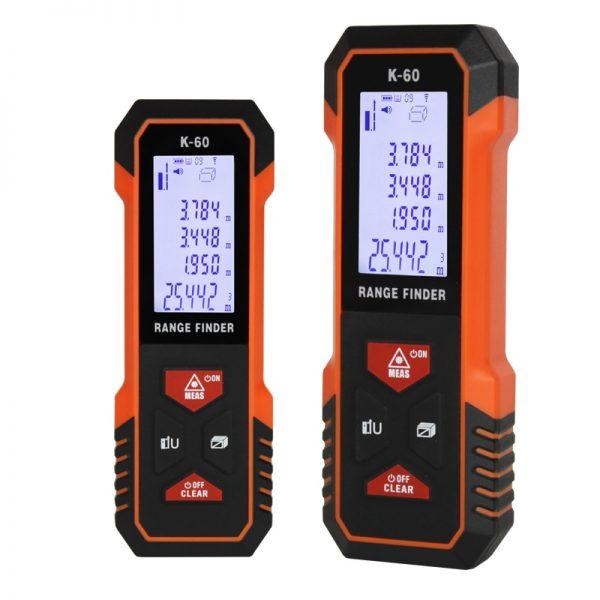 TECLASER Laser Meter Laser Measuring 40M 60M Laser Distance Laser Tape Measure Backlight LCD Laser Rangefinder Measure Distance