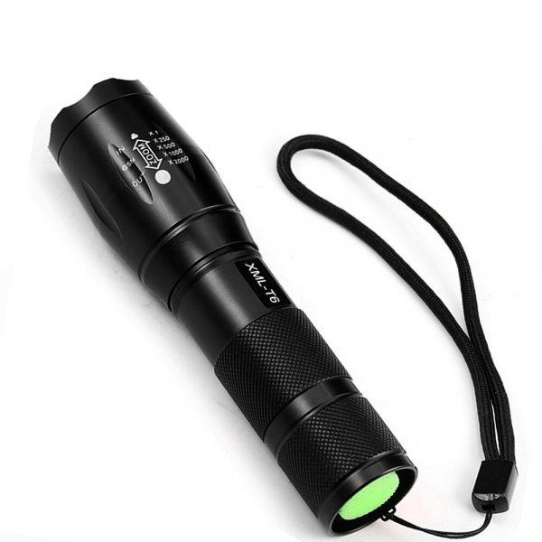 ZK20 LED Flashlight EDC Q250 Portable T6/Mini Q5 LED Torch Zoomable LED Flashlight Aluminum Torch Light Outdoor Camping TL360
