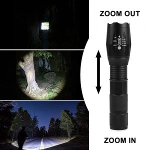 ZK50 LED Flashlight Ultra Bright 8000LM 5 Mode Zoomable Waterproof Flashlights 18650/AAA Torch LED Light Lanterna Outdoor